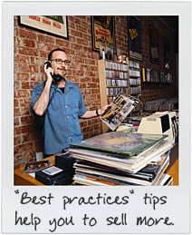 Best practices tips help you sell more.